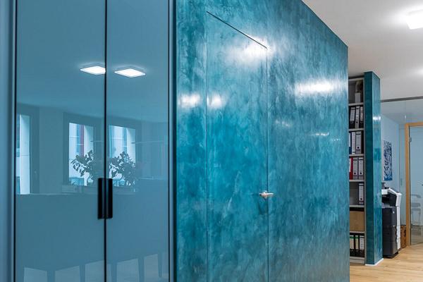 Top Mineralischer Glanzputz (Spachtel Technik) - Wandgestaltung VB57